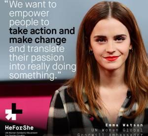 """Emma Watson, les femmes au pouvoir: """"Il faut arrêter de demander la permission"""""""