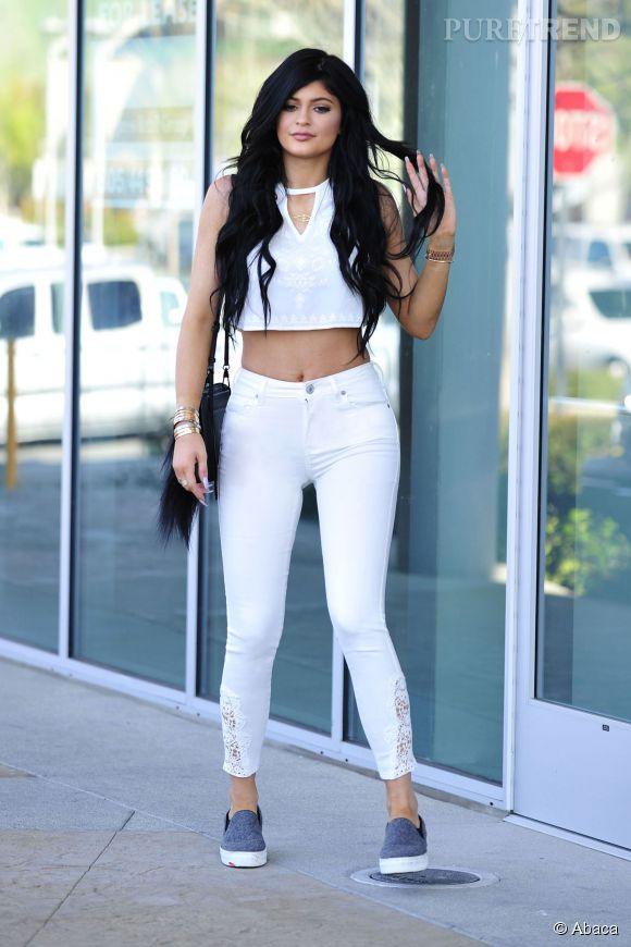 Kylie Jenner, une bimbo qui pourrait bientôt éclipser ses soeurs.