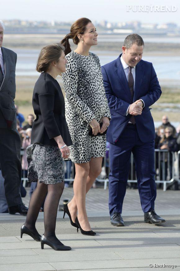 Kate Middleton n'a pas renoncé aux talons.