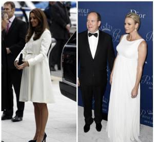 Kate Middleton vs Charlène de Monaco : battle des looks de grossesse