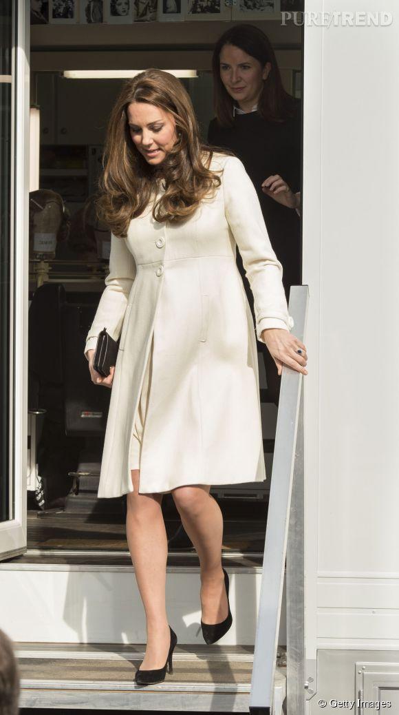 Kate Middleton continue de jouer les reines du style même avec un accouchement imminent.
