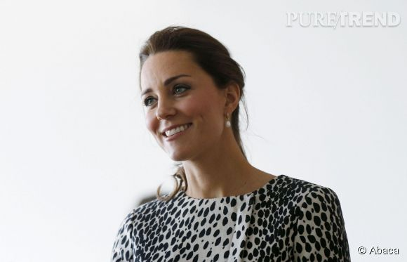 Kate Middleton devrait accoucher fin avril.