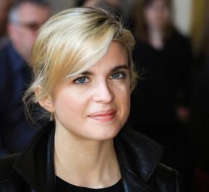 """La jolie Cécile Cassel était également présente au lancement de la 11ème édition de l'opération """"Une Jonquille pour Curie"""", ce mercredi 18 mars 2015."""