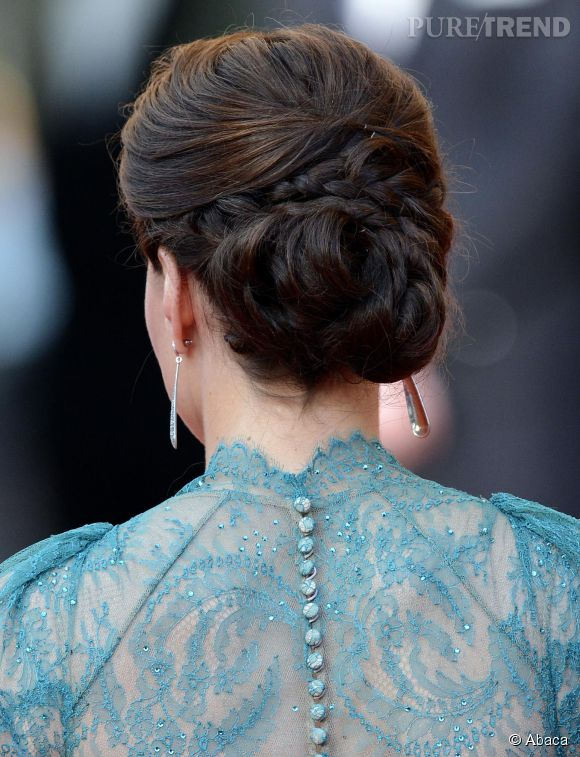 Le Chignon Travaille Chic Et Moderne De Kate Middleton Est Un Must Capillaire A Copier Sans Hesiter Puretrend