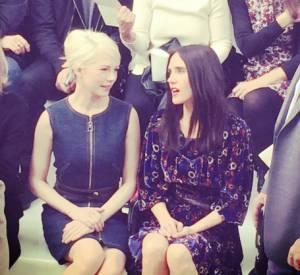 Michelle Williams et Jennifer Connelly, égéries Louis Vuitton, ne manqueraient pour rien au monde le show organisé à la Fondation boulonnaise.