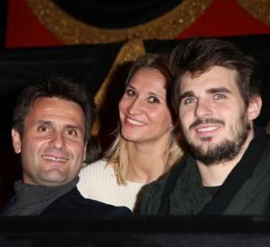 Tatiana Golovin et le rugbyman Hugo Bonneval (à droite) seront bientôt parents.