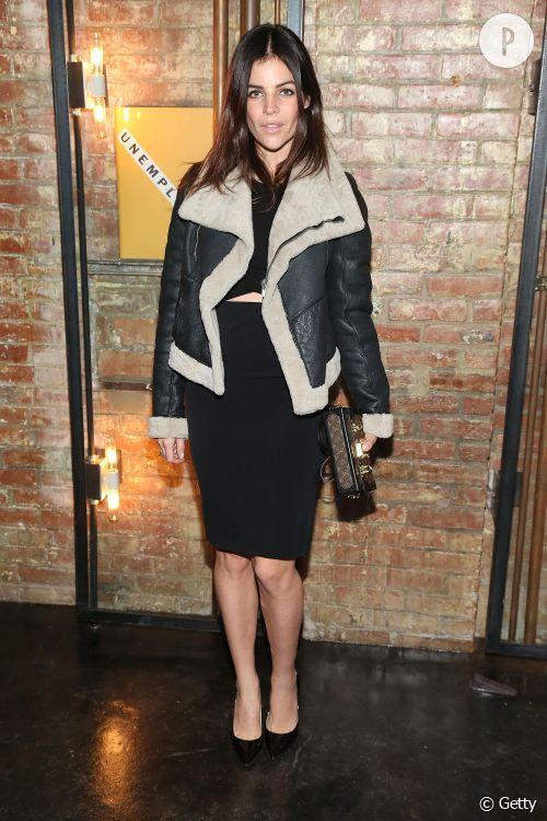 Julia Restoin Roitfeld lors de la soirée de lancement du magazine  Unemployed  à New York le 24 mars 2015.