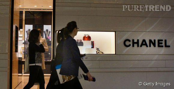 Chanel en Chine déplace les foules.