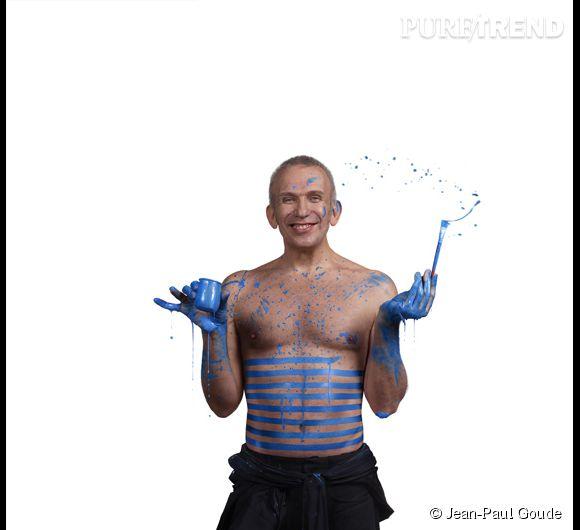 """Jean Paul Gaultier, Made in Mode"" de Jean-Paul Goude. 2012."