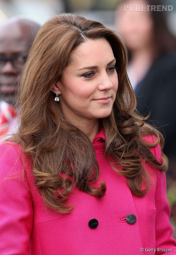 Kate Middleton voit la vie en rose depuis quelques jours