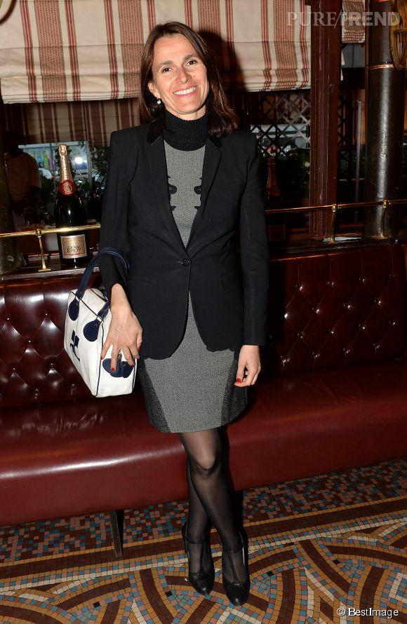 Aurélie Filippetti, hier soir à la remise du prix de la Closerie des Lilas 2015.