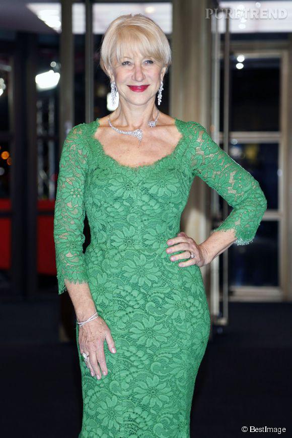 Helen Mirren, une silhouette à tomber à 69 ans.