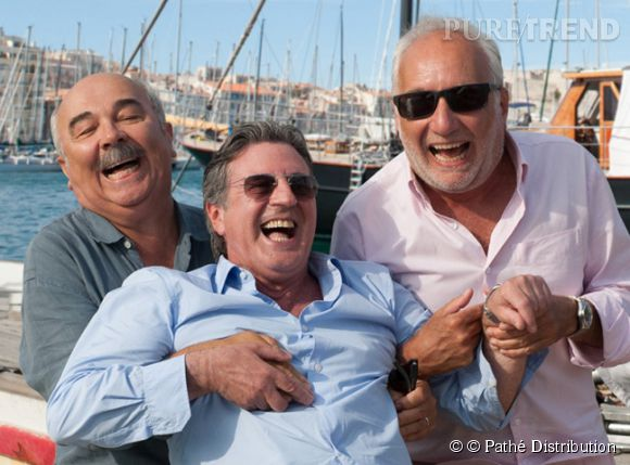 """Vacances """"Entre amis"""", les garçons se connaissent depuis 50 ans."""