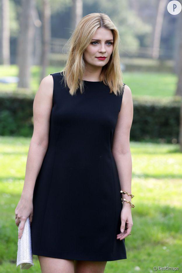 Mischa Barton, samedi 15 mars 2014 à Rome.