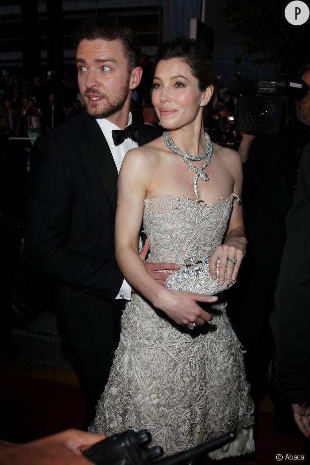 Justin Timberlake, ici avec son épouse Jessica Biel, n'a pas une tata vraiment cool.