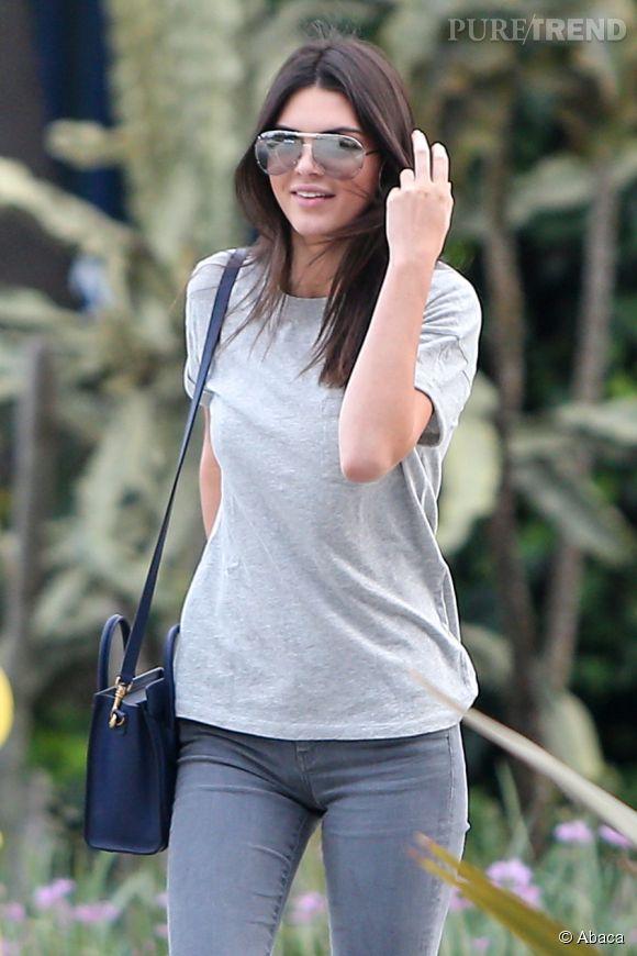 Kendall Jenner sait comment faire le buzz.