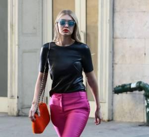 Gigi Hadid : le look de working girl vitaminé...à copier !
