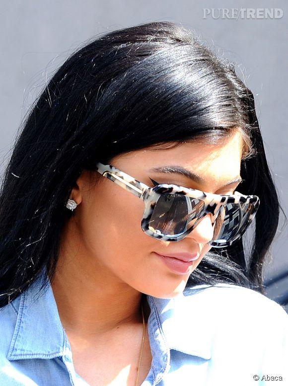 Kylie Jenner, 17 ans et déjà adepte de la chirurgie.