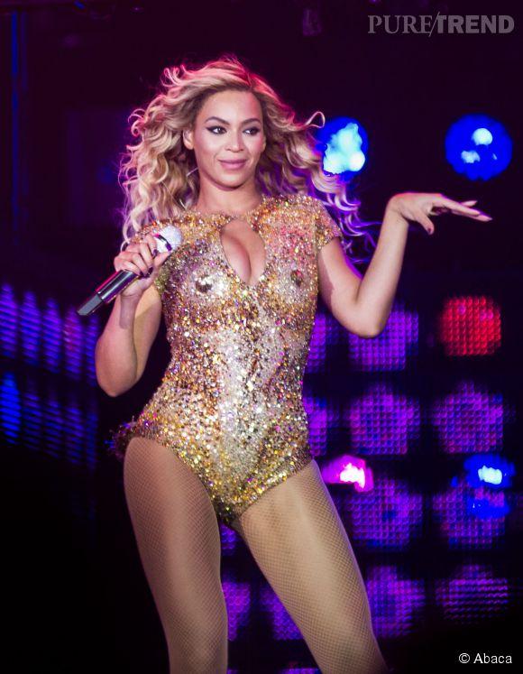 Beyoncé, star bling bling et sculpturale.