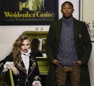 Cara Delevingne et Pharrell Williams : le couple autrichien de Chanel