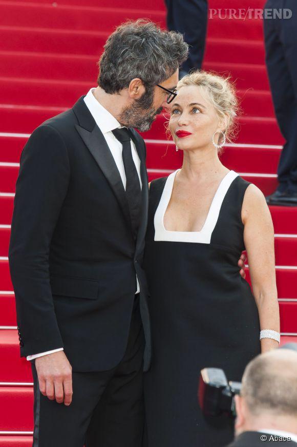 Emmanuelle Béart et Frédéric affichent leur amour au grand jour