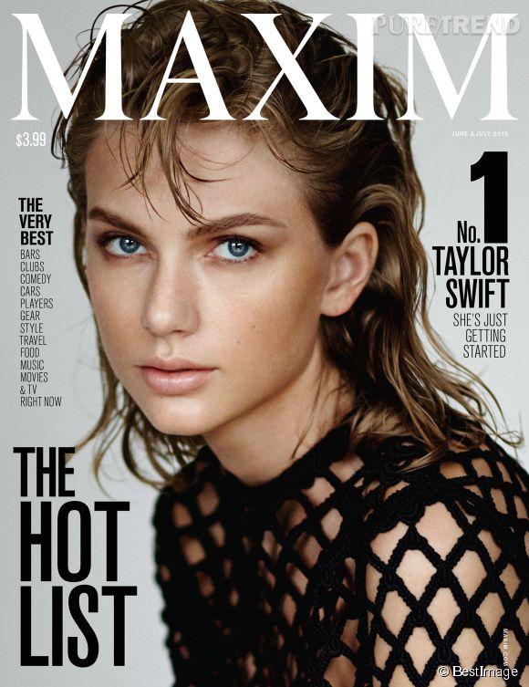 Taylor Swift élue femme la plus sexy du monde selon Maxim.