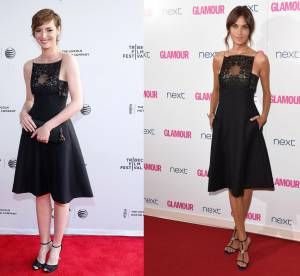 Louise Bourgoin vs Alexa Chung : la robe dentelle coquine Christian Dior