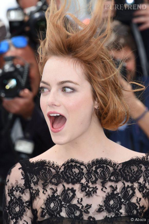 Emma Stone a eu très peur que tout le monde voit sa culotte.