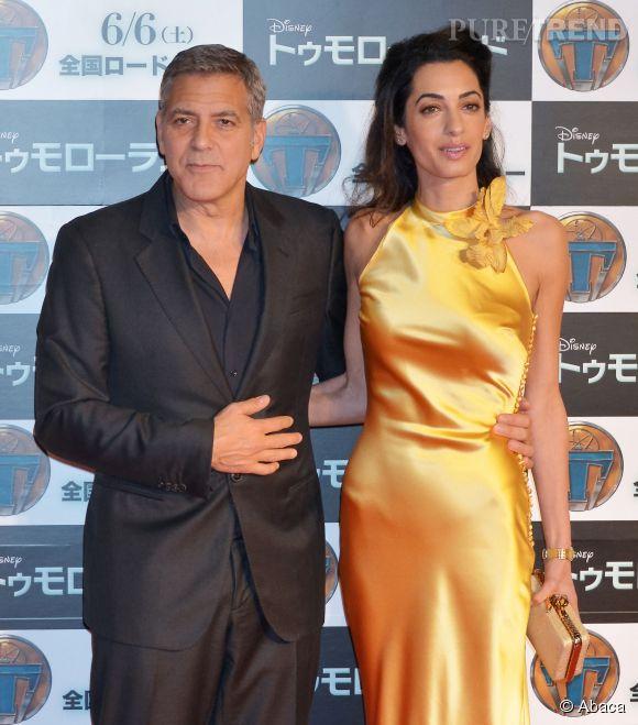George Clooney s'est fait éclipser par sa belle Amal.