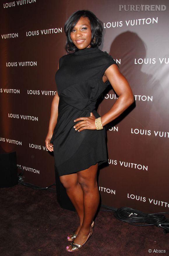 Quand elle veut, Serena Williams rayonne d'élégance. Comme ici en 2007 pour le défilé Louis Vuitton.