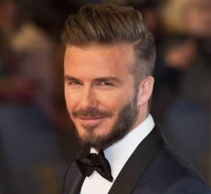 David Beckham : papa gâteau avec la petite Harper