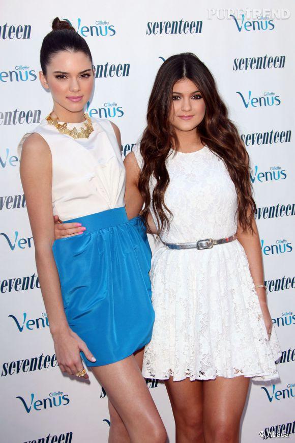 Kendall et Kylie Jenner, des soeurs inséparables.