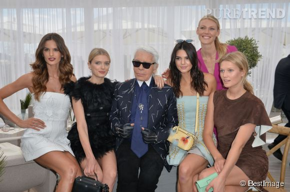 Kendall Jenner est très appréciée par Karl Lagerfeld.