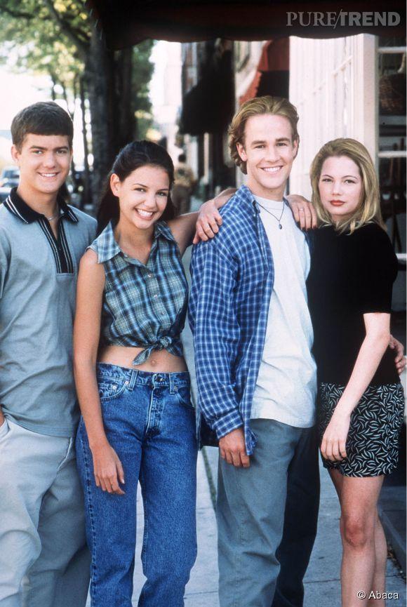 """La série """"Dawson"""" aura marqué toute une génération. A la fin de la série, Joey Potter, le personnage principale féminin, finit en couple avec Pacey Witter."""