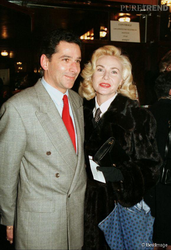 Michèle Torr et son dernier époux Jean-Pierre Murzilli, dont elle a divorcé en 1997.