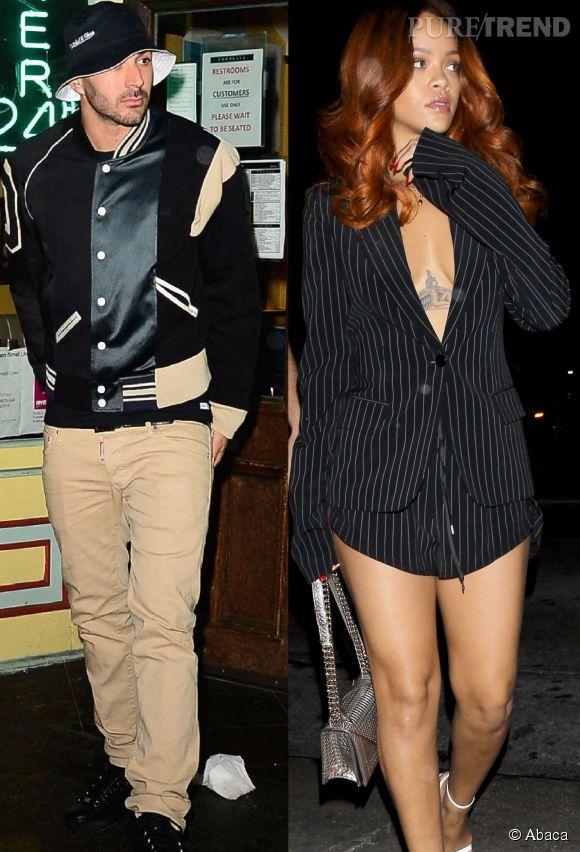 Rihanna et Karim Benzema se sont accordés une sortie en boîte de nuit à Los Angeles, vendredi 19 juin 2015...