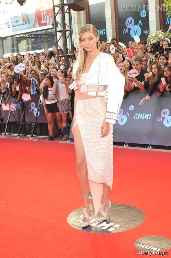 Gigi Hadid était ce dimanche 21 juin 2015 à Toronto pour les MMVAs.