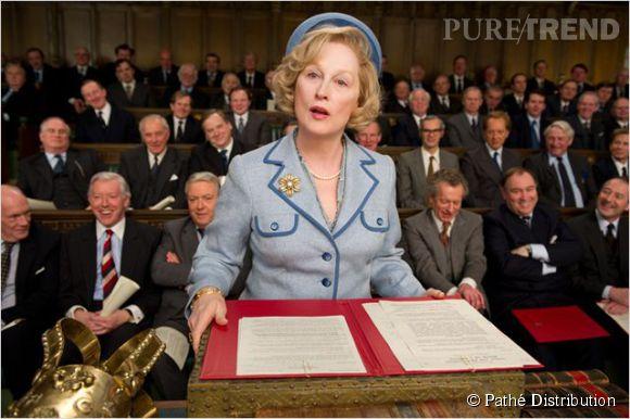 """Son interprétation de Margaret Thatcher dans """"La Dame de fer"""" lui a valu l'Oscar de la meilleur actrice."""