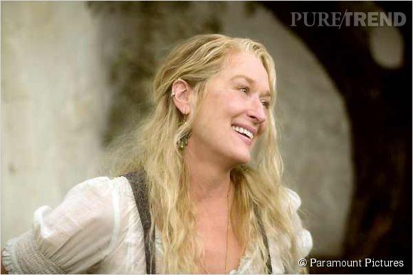 """Dans """"Mamma Mia"""", Meryl Streep pousse la chansonnette avec brio."""