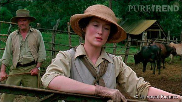 """Dans """"Out of Africa"""", Meryl Streep est Karen Blixen, épouse bafouée et délaissée."""