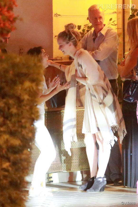 Jennifer Lawrence accueille sa famille à Los Angeles.