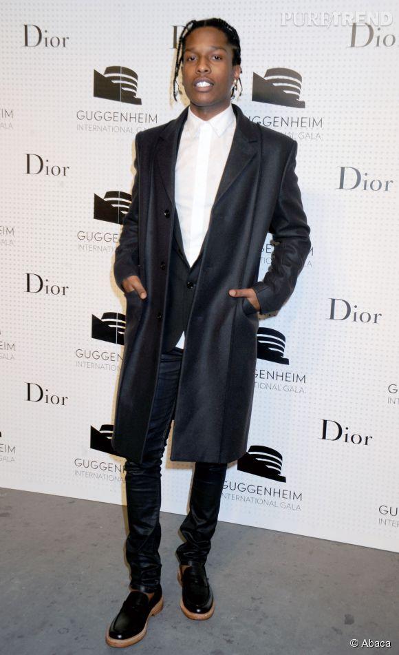 ASAP Rocky fait lui aussi partie des rappeurs fashion.