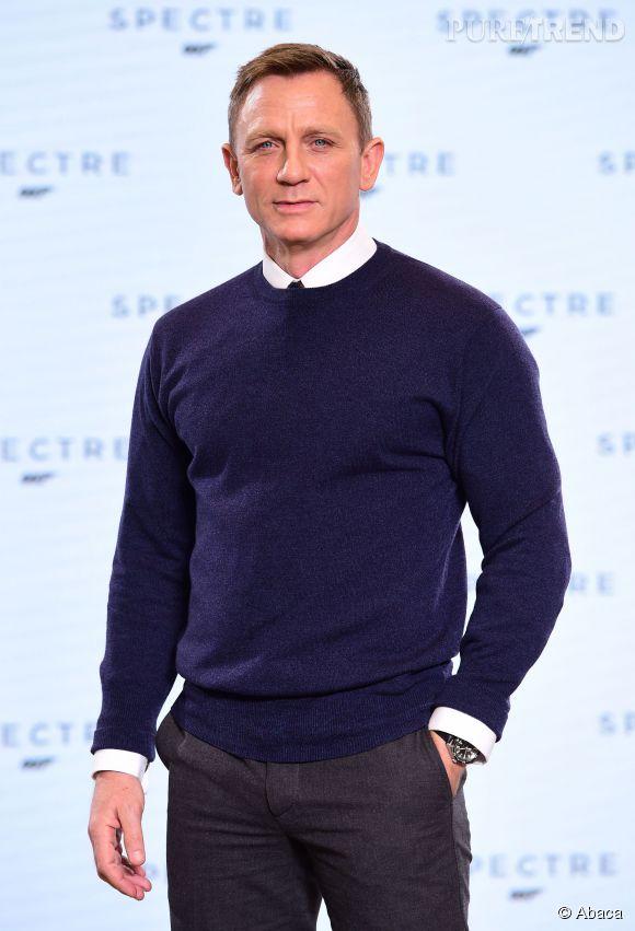 Daniel Craig, parce qu'on ne peut pas incarner James Bond et ne pas faire partie du classement des hommes les plus stylés au monde de  GQ .