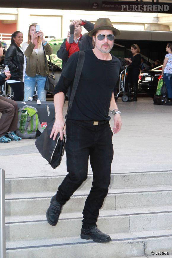Brad Pitt fait toujours autant d'effet, sur comme en dehors du tapis rouge.