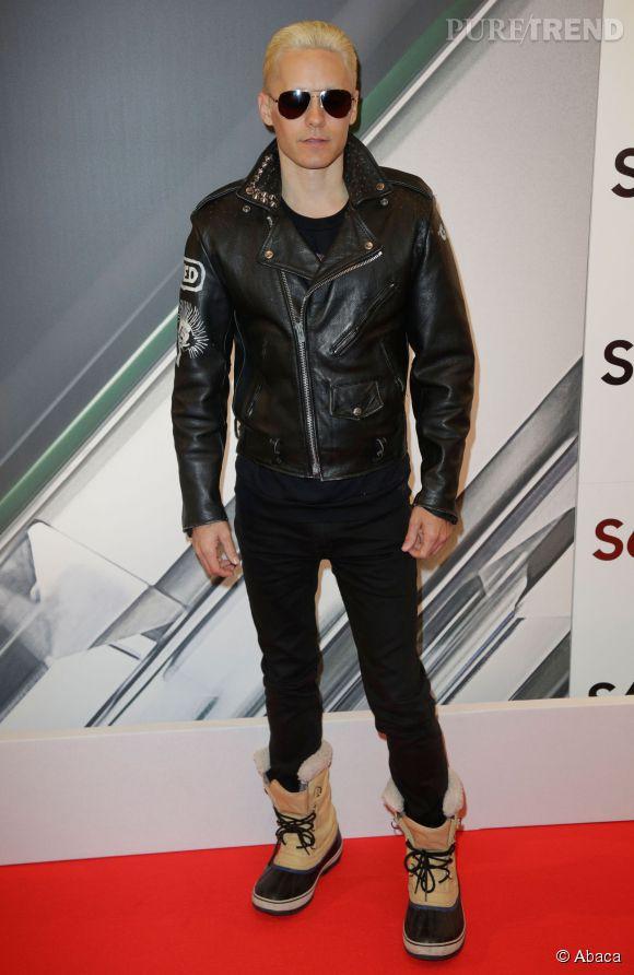 Jared Leto cultive un style bien particulier lui permet de se faire remarquer.