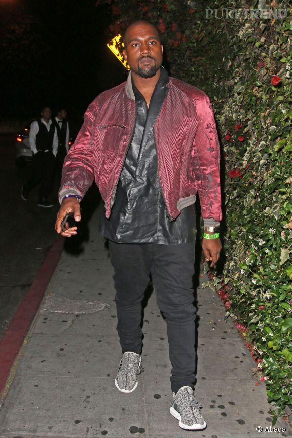 Kanye West, un rappeur modeux depuis la première heure.