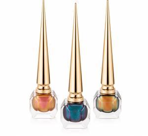 Christian Louboutin a imaginé trois vernis à ongles d'inspiration égyptienne.