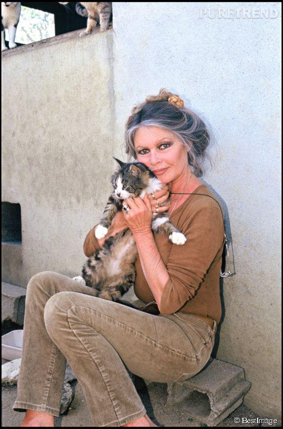 Brigitte Bardot est depuis toujours une fervente militante de la cause animale.