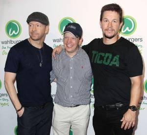 Donnie, Paul et Mark Wahlberg en juin 2015.