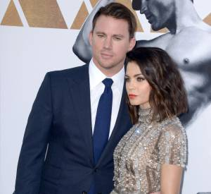 Channing Tatum et sa femme, couple sexy et amoureux.